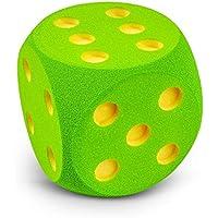 VOLLEY ® Schaumstoffwürfel - 16 cm - blau - grün - rot
