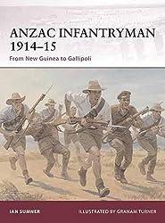 ANZAC Infantryman 1914-15: From New Guinea to Gallipoli (Warrior)