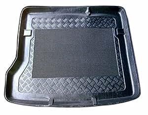 Aristar 193050 Tapis bac de coffre antidérapant (rebord 5 cm, léger et flexible, il est compatible avec le coffre)