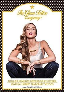 The Glam Tattoo Company Tatuaje metalico Temporal Comunicación Grafica 20140004