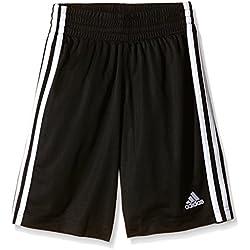 adidas Y COMMANDER S - Pantalón corto para hombre, color negro / blanco, talla 140
