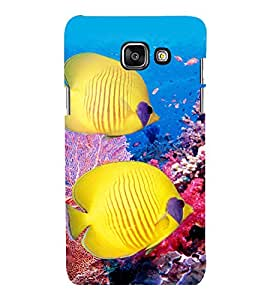 printtech Coral Sea Fish Back Case Cover for Samsung Galaxy A7 2016 Edition