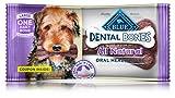 Bleu Dentaire Bones Adulte Grande Dentaire à mâcher pour Chien Treat emballées Individuellement