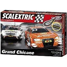 Scalextric - C2 Grand Chicane, circuito en forma de 8 (A10232S500)