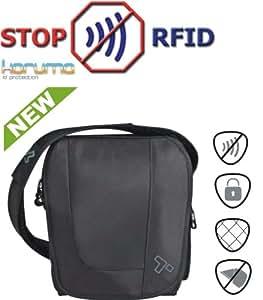 RFID Blocking Urban Tour Bag iPad iPhone Document Organiser Travel Protector