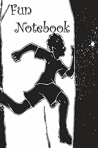 Fun Notebook: Boys Books - Mini Composition Notebook - Ages 6 -12  - Run For Something por Simple Planners and Journals
