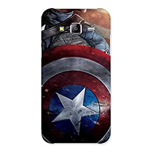 Shield of Cap Back Case Cover for Samsung Galaxy J5