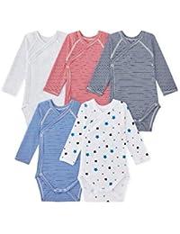 Petit Bateau Conjunto de Ropa Interior para Bebés (Pack de 5)