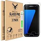 ISOUL [2 Pack] Screen Protector for Samsung Galaxy S7 Tempered Glass Film 9h HD, 0.3mm Premium Shatterproof Anti-Shatter [Ultra Strong] [Easy Installation] [Case Friendly]