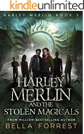 How many books will be in the harley merlin series