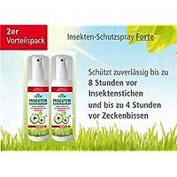 Plantacos Insekten-Schutzspray Forte - 2er Vorteilspack - Schützt zuverlässig vor Insektenstichen und Zeckenbissen preisvergleich bei billige-tabletten.eu