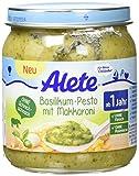 Alete Basilikum-Pesto mit Makkaroni, 6er Pack (6 x 250 g)