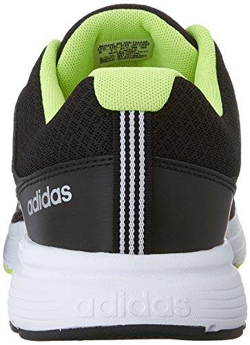 new styles 5473c 060ea Adidas Neo Cloudfoam Vs Stadt Schuhe, schwarz   metallic silber   gelb, 12  M Us Black Metallic Silver Yellow
