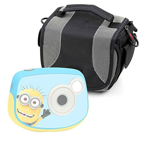 Duragadget borsa per fotocamera digitale lexibook cars dj024dc - minion dj024des - monster high dj017mh - paw patrol dj017pa - peppa pig dj017pp - soy luna dj017sl - con tracolla + maniglia