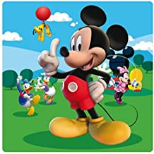 Mickey Mouse - Friends, Disney Cuadro En Vidrio Acrílico (19 x 19cm)