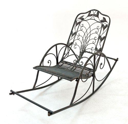 Schaukelstuhl Relax 18614 Liegestuhl aus Metall Sessel Schwingsessel Relaxstuhl