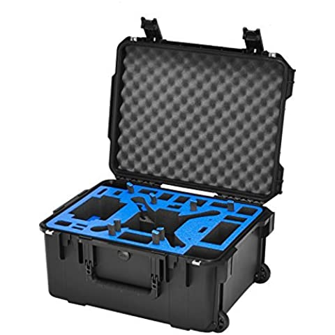 Go Professional Wheeled XB-DJI-Plus Case for DJI Phantom / FC40 / Phantom 2 / Vision / Plus by GOProfessional