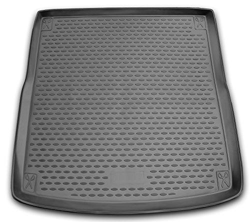 AD Tuning TMP11002 Passform Kofferraumwanne, Anti-Rutsch Oberfläche, schwarz