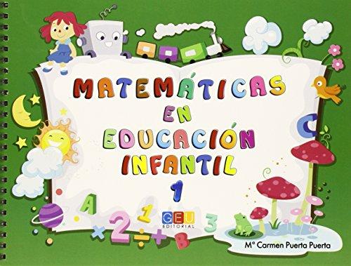 Matemáticas en educación infantil 1 (Educacion) - 9788415953104 por Mª Carmen Puerta Puerta