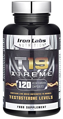 T19 Xtreme | Testosterone Booster for Muscle, Strength & Performance | 110% Guaranteed | 120 Vegetarian Capsules