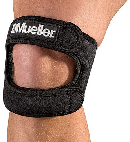 Mueller 59857, Ginocchiera regolabile, colore: Nero