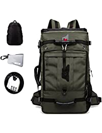 bbba5064fa GossipBoy 50L Multifunction Water Resistant Hiking Camping Backpack 14~17  Inch Laptop Rucksack Outdoor Travle