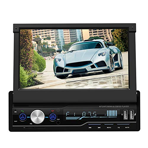 Zerone 7 Zoll 2 DIN Multimedia-Player MP5 Stereo für Autoradio GPS/TF-Karte/AUX/USB Auto MP3-Player mit Fernbedienung -