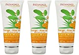 PATANJALI Orange And Aloevera Face Wash, 60g - Pack of 3