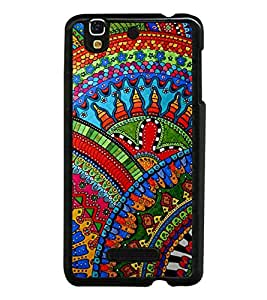 Fiobs Designer Back Case Cover for YU Yureka Plus :: Yu Yureka Plus YU5510A (jaipur rajasthan african america cross pattern)