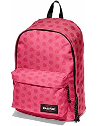 Eastpak Out Of Office Mochila Tipo Casual, Diseño Heat Dot, 27 Litros, Color Rosa