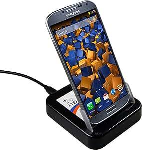 mumbi USB Dockingstation Samsung Galaxy S4 Dock / Tischladestation mit EXTRA Akkuladefach