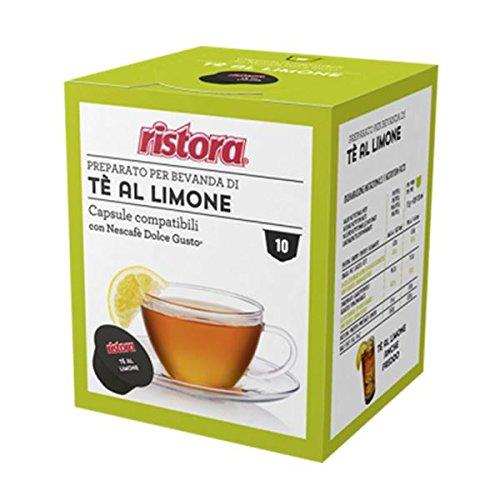 120 Cialde Capsule Compatibili Dolce Gusto Ristora Te' al Limone Originali