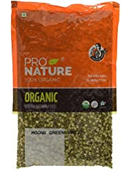 Pro Nature 100% Organic Moong Green Split, 500g