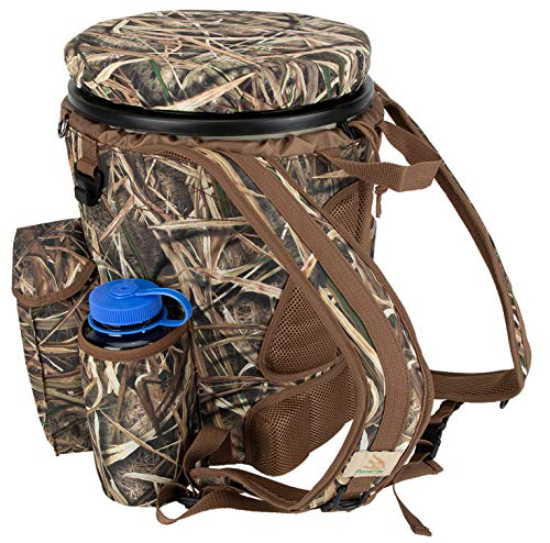 Peregrine Venture Bucket Pack Hunting Bucket Backpack Combo, Mossy Oak Shadowgrass Blades -