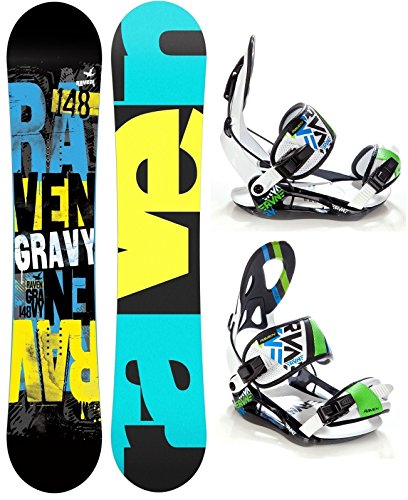 Snowboard Set: Snowboard Raven Gravy Gullwing +