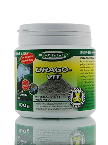 Dragon - DRAGO-VIT CALCIUM + VITAMIN D3 - ca. 100g