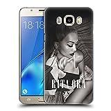 Head Case Designs Offizielle Rita Ora Kalender September Kunst Ruckseite Hülle für Samsung Galaxy J5 (2016)