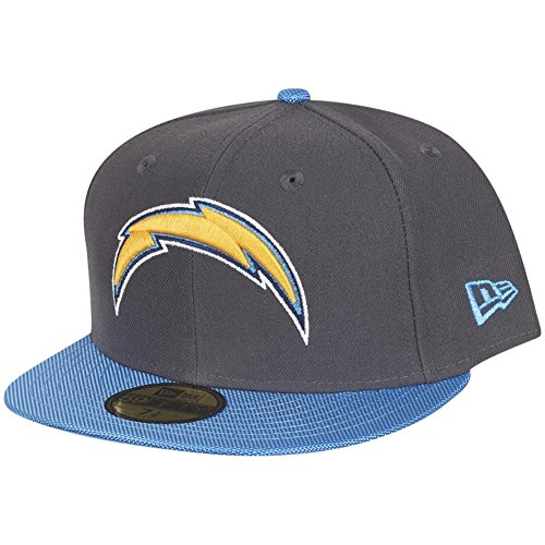 San Diego Chargers New Era Cap in Grey, 71/2, 11353585