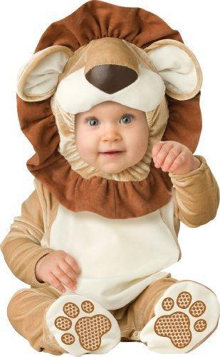 aby Neugeborenes liebenswert Lion Kostüm, braun/tan / creme, klein Farbe: braun / tan / creme Größe: 6-12 Monate (Lil Lion Kostüme)
