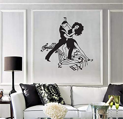 wandaufkleber gras Abnehmbare Vinyl Aufkleber Kunstwand Home Decor Wandaufkleber Oval Frame Schöne Silhouette Meerjungfrau