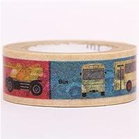 Nastro adesivo decorativo Washi mt con veicoli