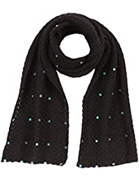 Baby Alpaca - Knitted scarf with sequins 100% baby alpaca wool