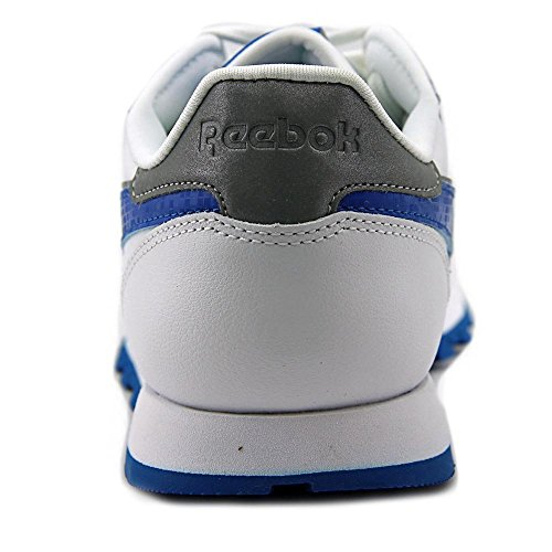 Reebok Classic Leather Reflect Leder Tennisschuh White/Blue Sport/Slvr Met