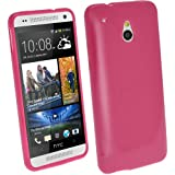 iGadgitz HTC One TPU Case (HTC One Mini, Pink Rosa)
