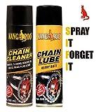 KANGAROO Chain lube and Cleaner 500 ml Each (Black)