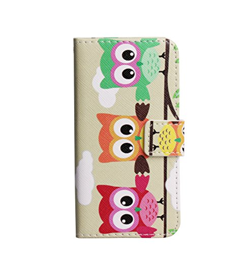 Monkey Cases® iPhone 6/6S-4,7-Étui à rabat-Chouette-Premium-Original-Nouveauté-# 13