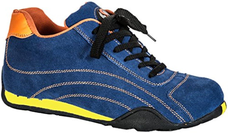 Seba 570 CE Zapato baja S1P SRC HRO, Azul, talla 37