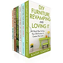 DIY Furniture And Cleaning Hacks Box Set (6 in 1): A Step By Step Guide To Revamp Your Furniture And Improve Your Living Space (Simplify Your Life, DIY ... Maximize Your Space) (English Edition)