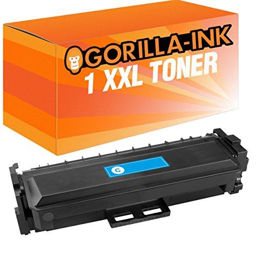 Preisvergleich Produktbild Gorilla-Ink® 1x Laser-Toner XXL Cyan kompatibel für HP Color LaserJet Pro M452 DW M477 FDW M470 Series CF411A/X