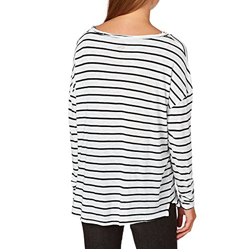 G.S.M. Europe - Billabong Damen Essential Long Sleeve T-Shirt White